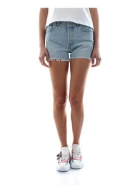 LEVIS 501 SHORT HIGH RISE 56327 SHORTS AND BERMUDAS Women DENIM MEDIUM BLUE