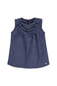 Marc O'Polo Junior - Baby Kjole - Blue Denim