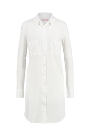Studio Anneloes lange blouse model GOLDIE 10 kleur white