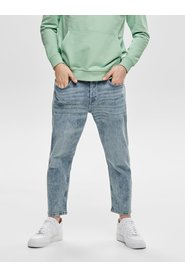 Slim fit jeans Avi beam crop washed