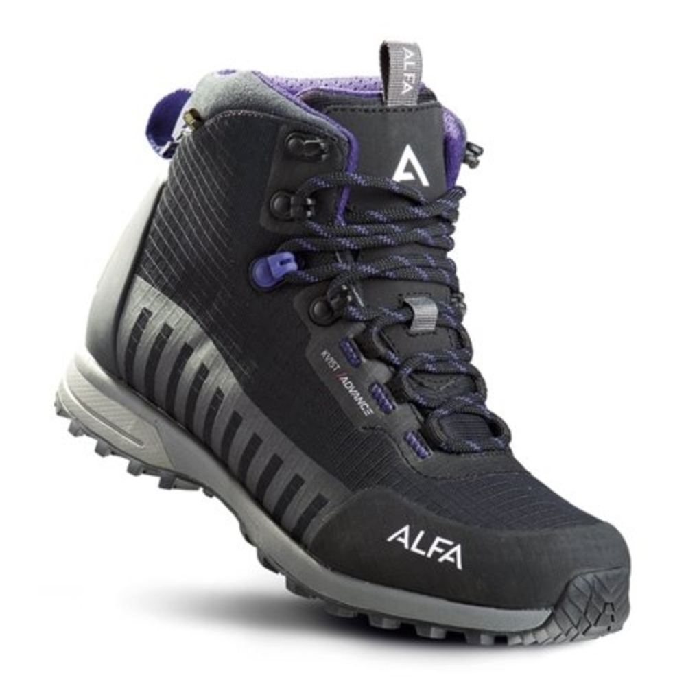 Alfa Kvist Advance GTX Tursko Dame Black/Purple
