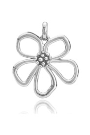 HONEY - Rhodium plated white sterling silver