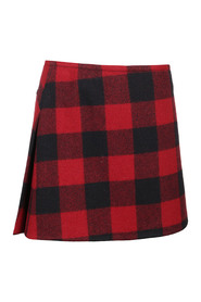 CANADIAN CHECK SKIRT