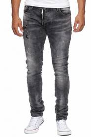 Damaged Look Jeans