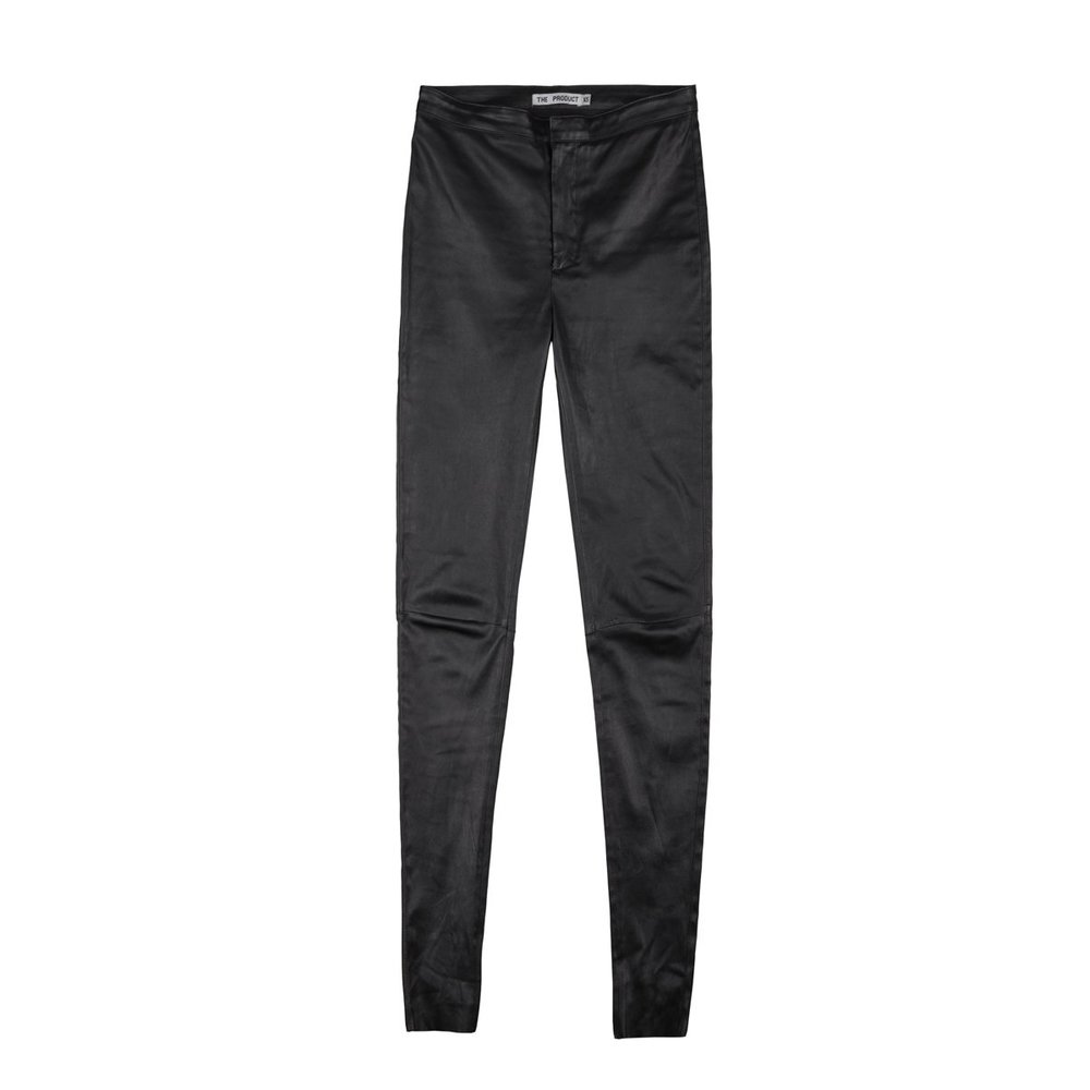 The Product Wmn Leather Pant Bukser
