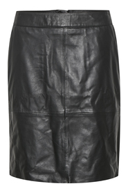 CUberta Leather Skirt