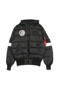 Nasa Hooded Puffer FD down jacket