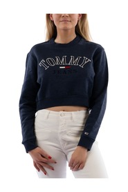Crop College Logo Sweatshirt