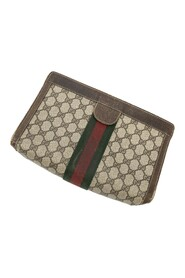 Pre-owned Accessory Collection Vintage Web Pouch