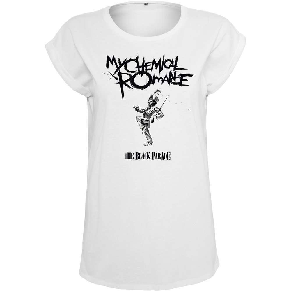 Ladies My Chemical Romance Black Parade Cover Tee