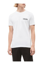 CALVIN KLEIN JEANS J30J314566 SLIM T-SHIRT T SHIRT AND TANK Men BRIGHT WHITE