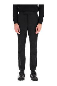 slim trousers with zip