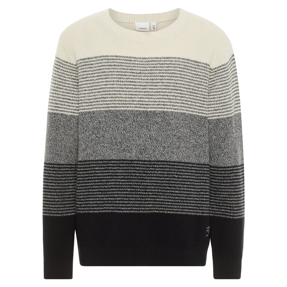 Pullover striped knit