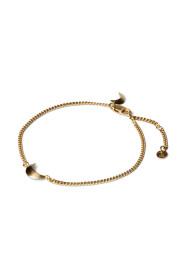 Half Moon Bracelet, guldbelagt sterling sølv