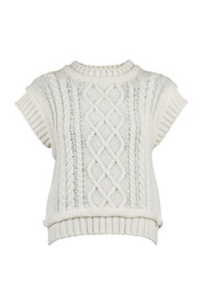 Malley Cable Knit Vest
