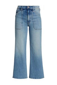 The Patch Rambler Roller Ankle Au Revoir Jeans