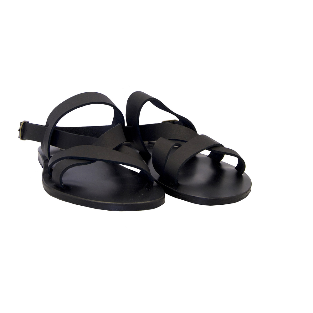 Black SANDALS | K.JACQUES | Sandals | Men's shoes