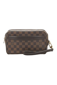 Damier Ebene Pochette Saint Paul Canvas