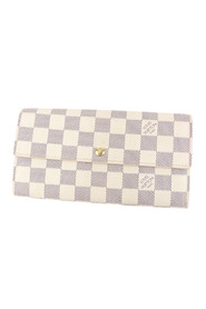 Damier Azur Sarah Long Wallet