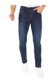 Blauwe Heren Denim Jeans Regular Fit - DP13