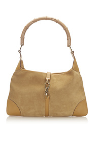 Bamboo New Jackie Shoulder Bag Leather Suede