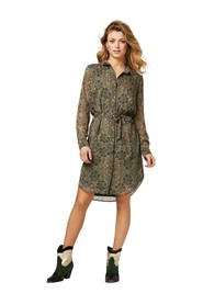 Amina Mini dress long sleeve