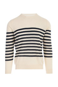 STRIPED CREW NECK L/S TSHIRT