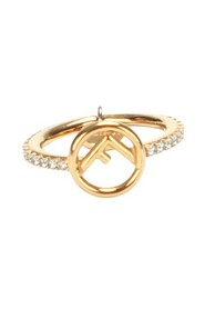 Käytetty F Is Fendi Gold Plated Ring