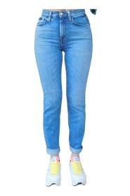 Jeans super strech vita alta