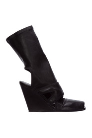 Women's heel ankle boots