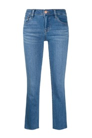 Selena Mid Ris Crop Boot Jeans