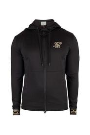 Sort Siksilk Cartel Agility Track Top Genser