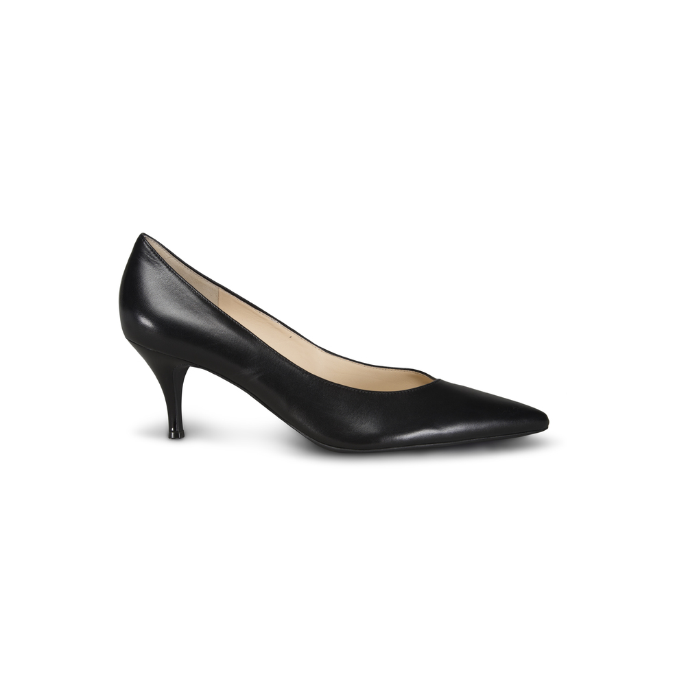 Högl leather black pointed toe