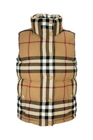 CHECK FLANNEL PUFFER GILET THEFORD