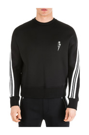 men's sweatshirt sweat  ergodynamic varsity strip