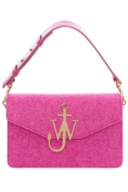 Rosa Jw Anderson Accessories Feltlogo Purse Veske