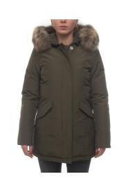 Arctic Parka Pelliccia Racoon hooded jacket