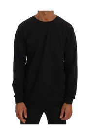 Crewneck Cotton Pullover Sweater