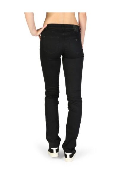 Black Jeans Guess Jeansy Proste Nogawki