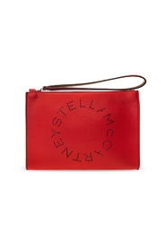 Clutch with logo perforation