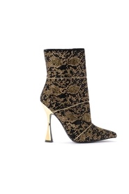 Volora ankle boot with rhinestones
