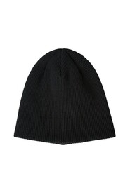 Ribbed-Knit Beanie Hat