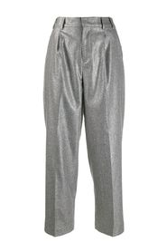 UNLINED SLIM TROUSERS