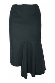 Woolen Asymmetric Skirt -Pre Owned Condition Very