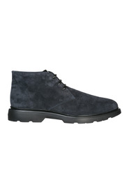 men's suede desert boots lace up ankle boots h304