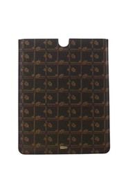 Floral Logo Leather iPAD Tablet eBook Cover
