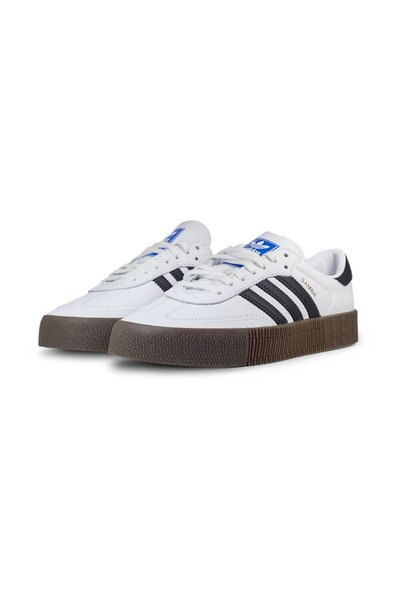 Adidas White Samba Rose Sneakers - Wit 4iq7xmK