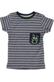 Knot so Bad 3200 t-shirt streep blauw
