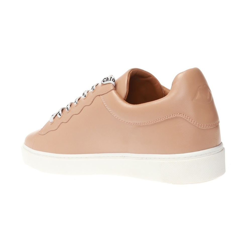 See by Chloé BROWN Essie sneakers with logo See by Chloé