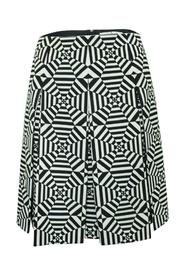 Optic Print Skirt -Pre Owned Condition Very Good